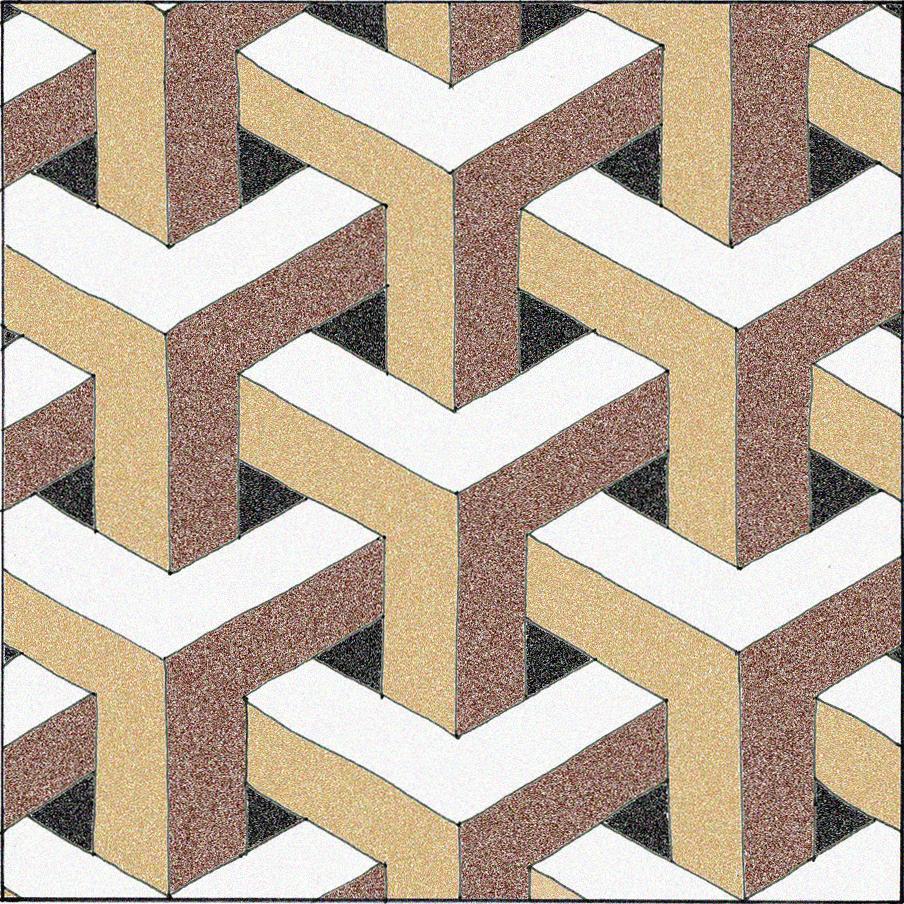 Floor Patterns 2H Pencil