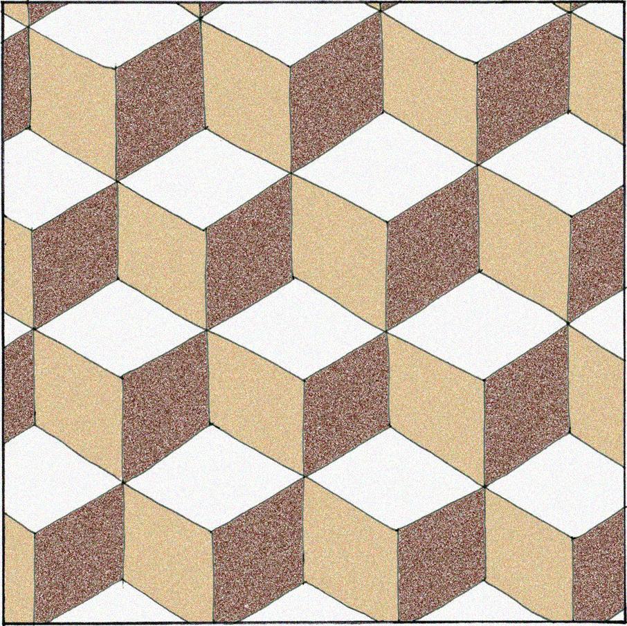 Floor Tile Medallion
